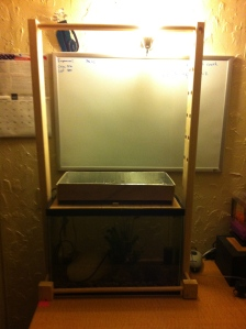 DIY Aquaponics Frame